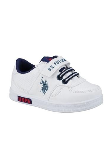 U.S. Polo Assn. Bebek Ayakkabı Cameron 100909775 Beyaz